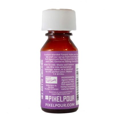 Pixel Pour Full Spectrum Syrup Grape Back
