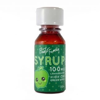PhytoFamily Full Spectrum Syrup Green Apple Front