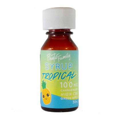PhytoFamily Full Spectrum Syrup Pineapple Front