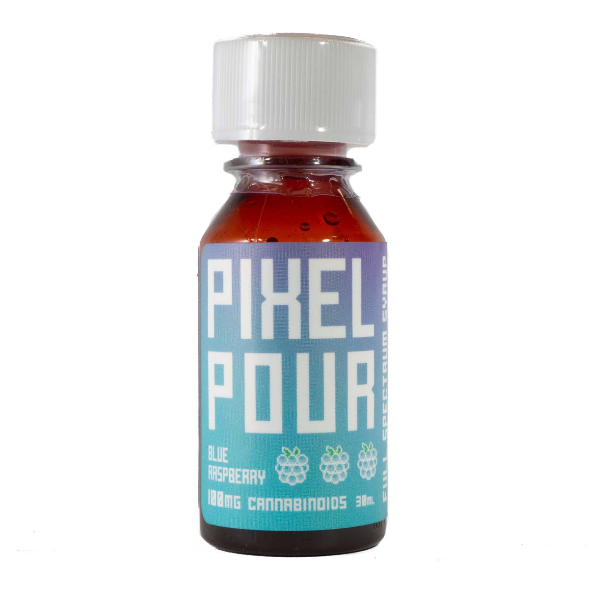 Pixel Pour Full Spectrum Syrup - Blue Raspberry