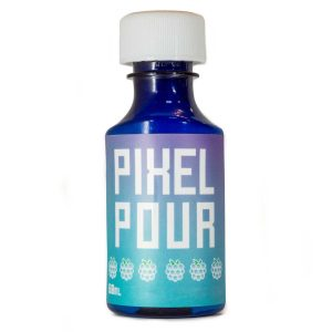 Pixel Pour Full Spectrum Syrup – 2 oz – Blue Raspberry