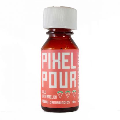 Pixel Pour Full Spectrum Syrup Watermelon Front