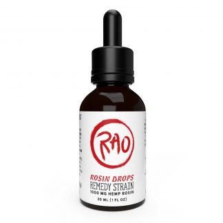 RAO Rosin Drops - Solventless - 1000mg - Front