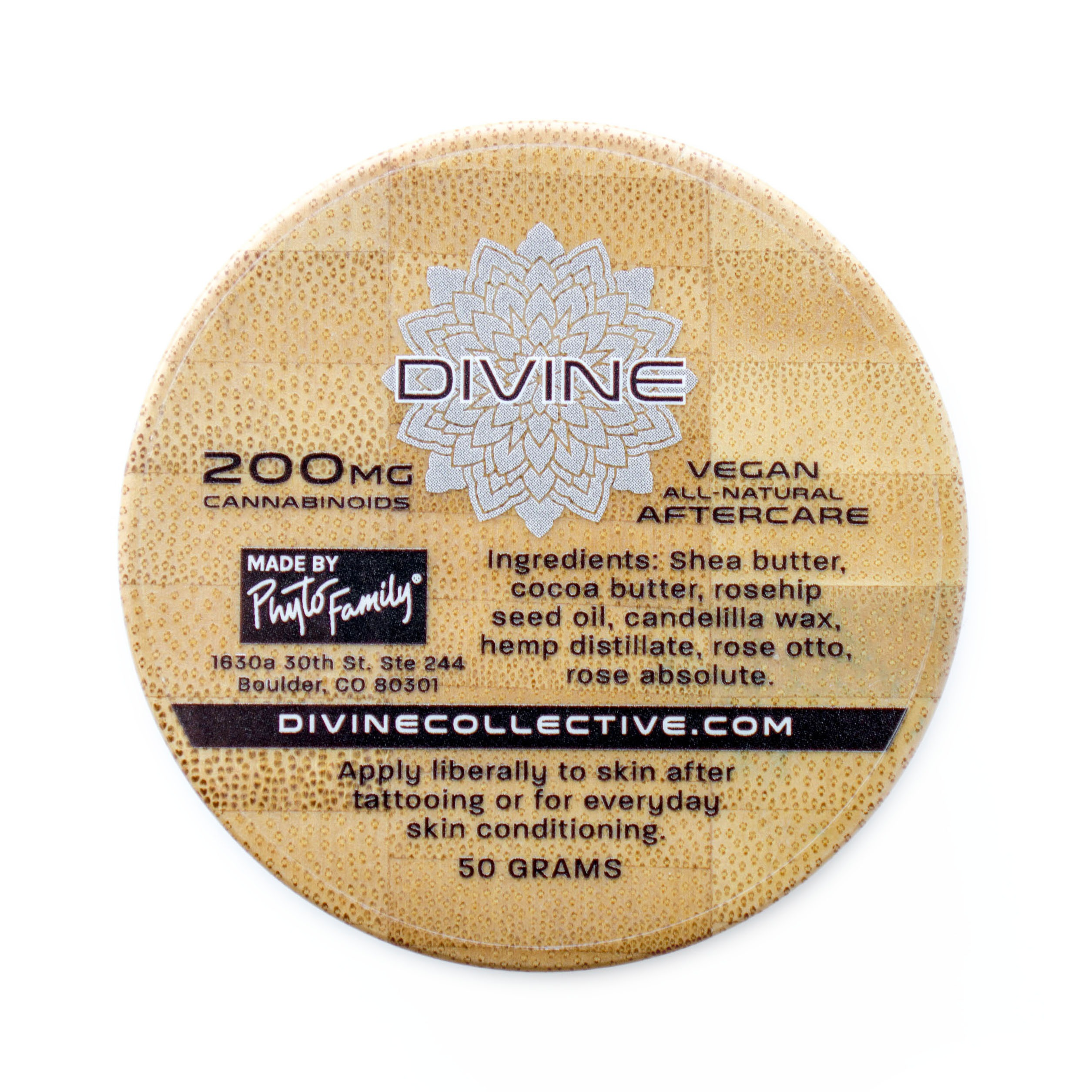 Divine Collective Salve Tattoo Aftercare Cream Phytofamily