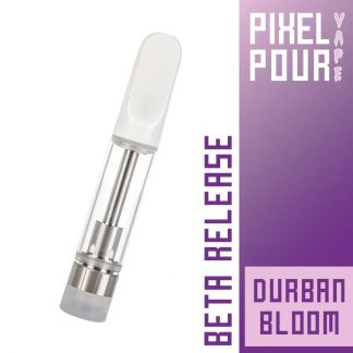 Pixel Pour Vape Cart - CBD Vape Cart - Durban Bloom - Terpene Vape Cart