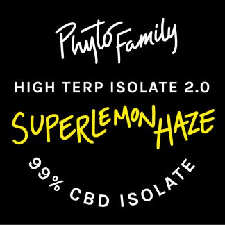 High Terp Isolate - Super Lemon Haze - CBD Dabs - PhytoFamily 99% High Terpene Isolate - Terpene Dabs