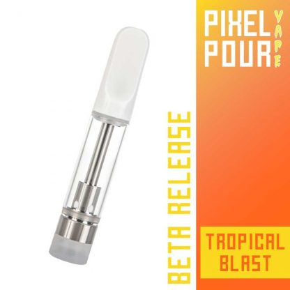 Pixel Pour Vape Cart - CBD Vape Cart - Tropical Blast - Terpene Vape Cart