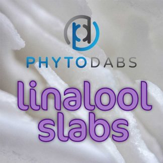 PhytoDabs Linalool Slabs - Terpene Slabs - Buy CBD Dabs with Linalool Terpenes and CBD Isolate