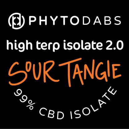 PhytoDabs High Terp Isolate - Sour Tangie - CBD Dabs - PhytoFamily 99% High Terpene Isolate - Terpene Dabs