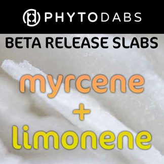 PhytoDabs Myrcene Limonene Slabs - Terpene Slabs - Buy CBD Dabs with Myrcene Limonene Terpenes and CBD Isolate