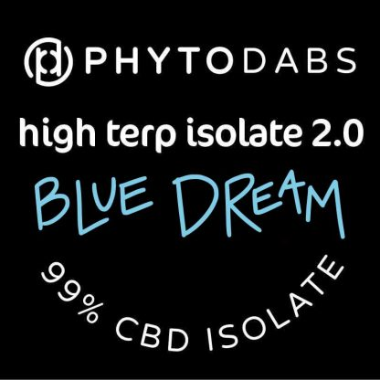 PhytoDabs High Terp Isolate - Blue Dream - CBD Dabs - PhytoFamily 99% High Terpene Isolate - Terpene Dabs with Blue Dream Terpenes