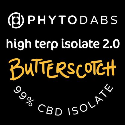 PhytoDabs High Terp Isolate - Butterscotch - CBD Dabs - PhytoFamily 99% High Terpene Isolate - Terpene Dabs with Butterscotch Terpenes