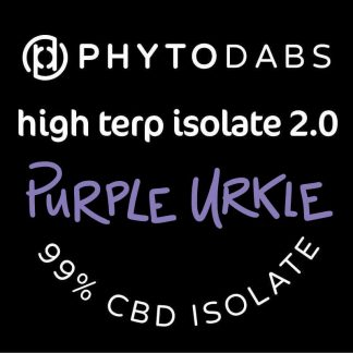PhytoDabs High Terp Isolate - Purple Urkle - CBD Dabs - PhytoFamily 99% High Terpene Isolate - Terpene Dabs with Purple Urkle Terpenes