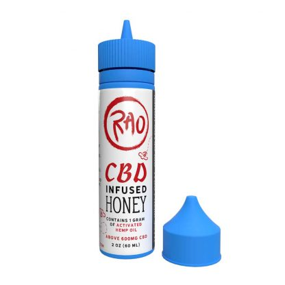 Rao CBD Honey - Hemp Honey Made With Local Colorado Hemp and Local Colorado Honey - Activated Hemp Oil 600mg CBD