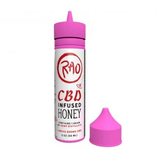 Rao CBD Honey - Hemp Honey Made With Local Colorado Hemp and Local Colorado Honey - Hemp Distillate 800mg CBD