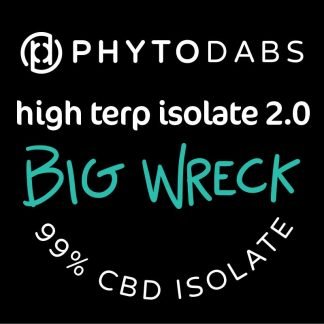 PhytoDabs High Terp Isolate - Big Wreck - CBD Dabs - PhytoFamily 99% High Terpene Isolate - Terpene Dabs with Big Wreck Terpenes
