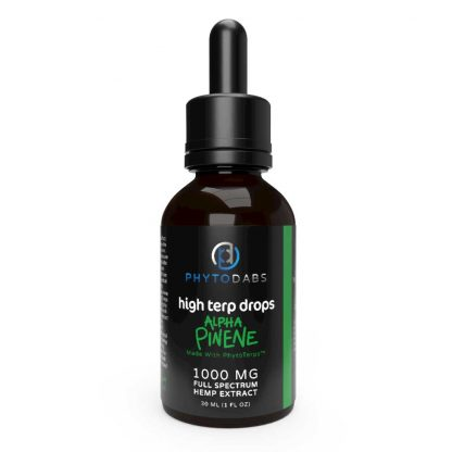 PhytoDabs High Terp Drops - Alpha-Pinene - Full Spectrum CBD Drops With Alpha-Pinene Terpenes