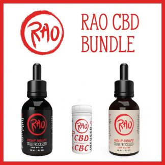 Rao CBD Bundle - Rao CBD Drops and CBD Honey Discount Pack