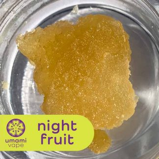 Umami Slabs Night Fruit - Full Spectrum CBD Slabs -Night Fruit Terpenes - Subtle Citron Dabs - CBD Dabs With Terpenes