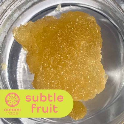 Umami Slabs Subtle Fruit - Full Spectrum CBD Slabs - Subtle Fruit Terpenes