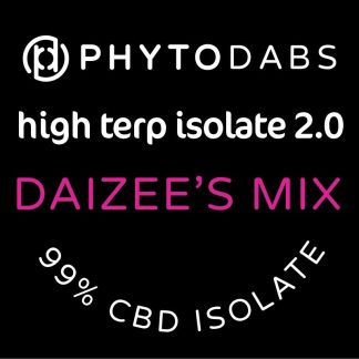 PhytoDabs High Terp Isolate - Daizee's Mix - CBD Dabs With Terpenes