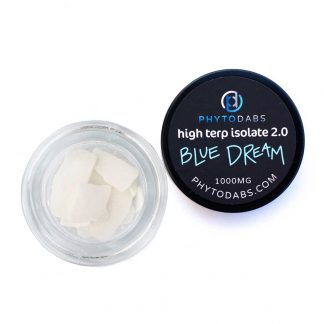 Blue Dream Dabs - High Terp Isolate CBD Isolate Dabs With Terpenes