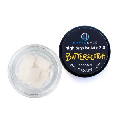 Butterscotch Dabs - High Terp Isolate CBD Isolate Dabs With Terpenes
