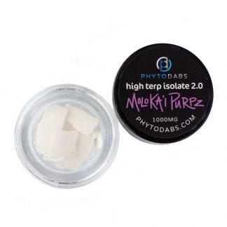 Molok'ai Purps Dabs - High Terp Isolate CBD Isolate Dabs With Terpenes