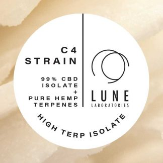 Lune Laboratories Pure Hemp Terpenes High Terp Isolate - C4 Strain