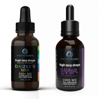 Daizee's Mix Drops and Linalool Drops - PhytoDabs High Terp Drops Bundle