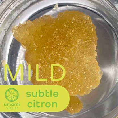 Umami Vape Subtle Citron Slabs - Mild - CBD Dabs With Terpenes