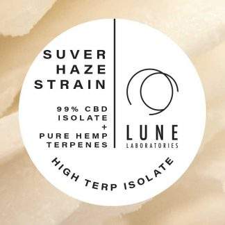Lune Laboratories Pure Hemp Terpenes High Terp Isolate - Suver Haze Strain